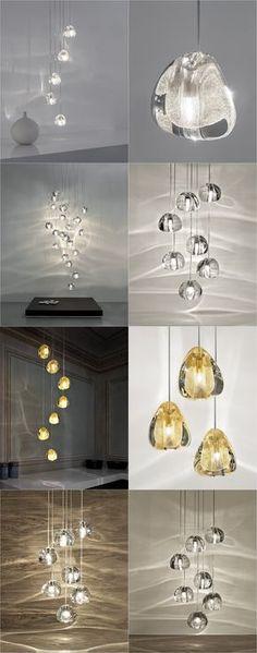 MIZU customizable pendant light. Terzani | Design by Nicolas Terzani