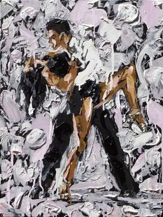 'Lost in a Moment of Passion' ---- by Derfla (18 x 24 inches) $500