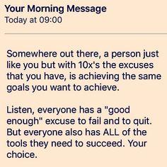 #wednesdaywisdom from @realcraigballantyne #morningmotivation #owntheday #mornings  #quotestoliveby #positivethinking #productivity #getmoredone #getmotivated