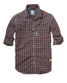 Easy Check Shirt With Chest Pockets > Mens Clothing > Shirts at Scotch & Soda