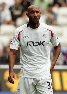 Nicolas Anelka, Bolton Wanderers, Professional Football, Nike Football, Big Time, Bose, Hustle, Black Men, Mens Tops