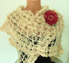 Easy Crochet Patterns | LACY CROCHET SHAWL | Crochet For Beginners