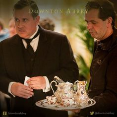 Tea, anybody?  #Downton #DowntonAbbey #BehindTheScenes ..