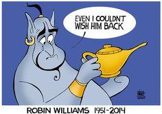 Robin Williams One of the Funniest People on Earth Sad Disney, Disney Fan Art, Disney Love, Disney Magic, Disney Stuff, Robin Williams Art, Robin Williams Death, Robert Williams, Disney And Dreamworks