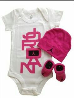 Nike Baby Girl Clothes Interesting Pindeborah Perez On Baby Outfit Jordan And Room  Pinterest