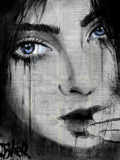 La Belle by Loui Jover Muse Kunst, Belle Drawing, Street Art, Beauty In Art, Muse Art, Tatoo Art, Portraits, Human Art, Ink Pen Drawings