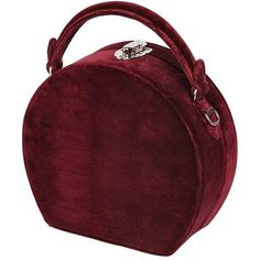 Bertoni 1949 Women Bertoncina Velvet Top Handle Bag (51.735 RUB) ❤ liked on Polyvore featuring bags, handbags, accessories, borse, bordeaux, locking purse, red bag, purse bag, velvet purse and hand bags