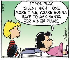 Lucy Schroeder Peanuts Snoopy Piano