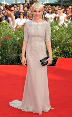 Michelle Williams at the 2010 Venice Film Festival in Jason Wu