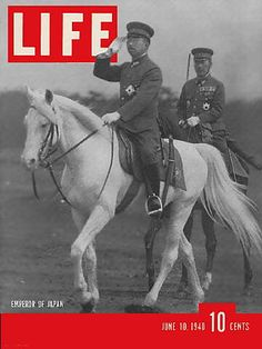 LIFE Magazine June 10, 1940 - Japan Emperor Hirohito