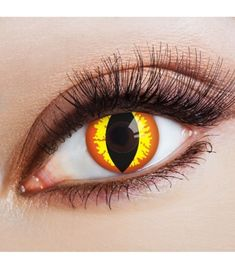 Cat's Eye – contact lenses without strength - Cats and Dogs House Halloween Eye Makeup, Halloween Eyes, Larp, Cat Eye Contacts, Demon Costume, Eye Contact Lenses, Colored Contacts, Dark Eyes, Eye Color