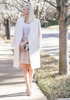Who can deny the allover chicness that is this monochrome blush look? Not only is it seasonally appropriate, but it's easy to mimic, too. Click through to shop the look.