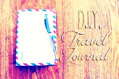 Air Mail Envelope Travel Journal #howto #tutorial
