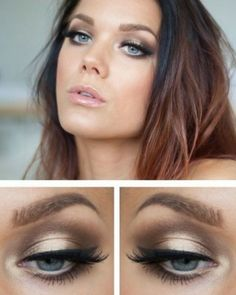 Metallics It's ideal for brides with green and blue eye colours, and is so quick and easy to achieve if you're on a budget.