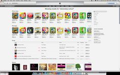 """iTunes Search """"Elementary School"""""""
