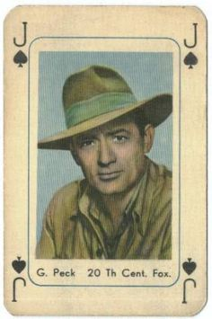 Playing Cards Gregory Peck - classic-movies Fan Art
