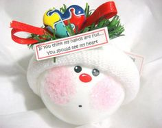 Autism Christmas Ornaments Awareness Hand Painted Handmade Personalized Themed by Townsend Custom Gifts