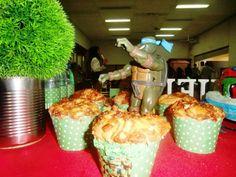 Festinha temática tartaruga ninjas