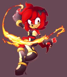 Hope the fire hegehog twin of lance