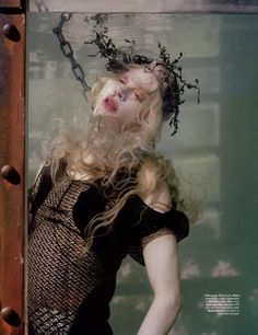 Kristen McMenamy by Tim Walker