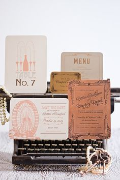 Custom Invitations and Event Branding Art Deco Wedding Invitations, Letterpress Invitations, Invitation Paper, Wedding Stationary, Invitation Design, Custom Invitations, Stationery, Name Place Cards, Event Branding