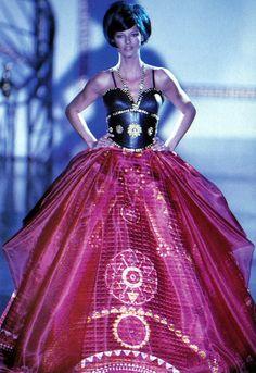 Linda Evangelista - Atelier Versace couture - #lexeecouture