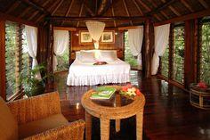 Fiji's Namale Resort & Spa: A Parlour Getaway With Free Goodies For Two Honeymoon Suite, Fiji Honeymoon, Tropical Bedrooms, Dream Vacations, Honeymoon Vacations, Luxury Homes Interior, Favim, Luxury Villa, Resort Spa