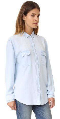RAILS Kendall Button Down Shirt | SHOPBOP