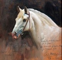 View Jock ridden by H. King George V for 9 years by Sir Alfred Munnings on artnet. Browse upcoming and past auction lots by Sir Alfred Munnings. Animal Paintings, Animal Drawings, Horse Paintings, Drawing Animals, Alfred Munnings, Connemara Pony, Cowboy Horse, Horse Art, Horse Head