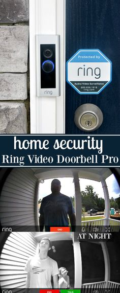 Home Security with the Ring Video Doorbell Pro #AlwaysHome