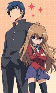 Taiga & Ryuuji from Toradora!