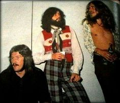 John Bonham - Jimmy Page - Robert Plant