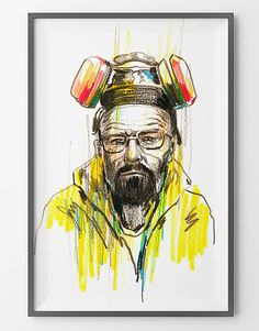 Poster Walter White Jesse Pinkman Breaking Bad by BagApart on Etsy