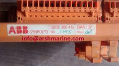 ABB SYNPOL D CMA 132 3DDE 300 412 GENERATOR RELAY TERMINAL BOARD www.arshmarine.com