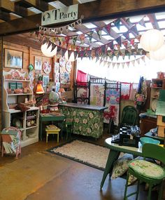 My T-Party Antiques Booth at SoNo Marketplace