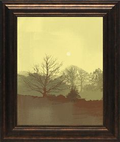 North American Art Misty III Wholesale Framed Landscape Art Print