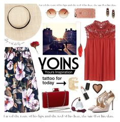"""""""Yoins#6"""" by neny-6 ❤ liked on Polyvore featuring Sigma Beauty, Casetify, Topshop, yoins and yoinscollection"""