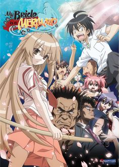 My bride is a mermaid- Funniest anime I have ever watched XD 8.5/10