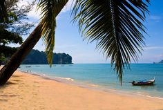 Aonang Beach right in front of The L Resort Krabi