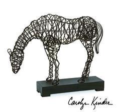 Anatole Woven Horse