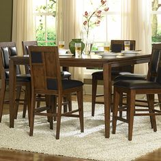Exquisite Counter Height Dining Sets Cherry