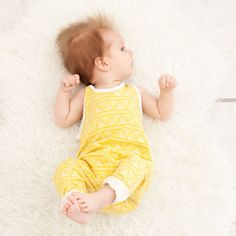 Lemon Fields Romper! Made from a soft knit blend that will let your kids PLAY HARD while still staying stylish and comfy. Full length pant with ability to roll or leave long for all