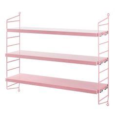 String Pocket shelf, pink