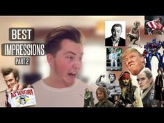 BEST IMPRESSIONS ON YOUTUBE | PART 2