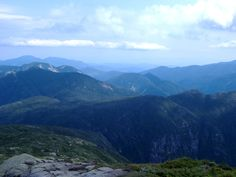 Mt. Marcy--highest peak in New York. Located in the Adirondack Mtns.