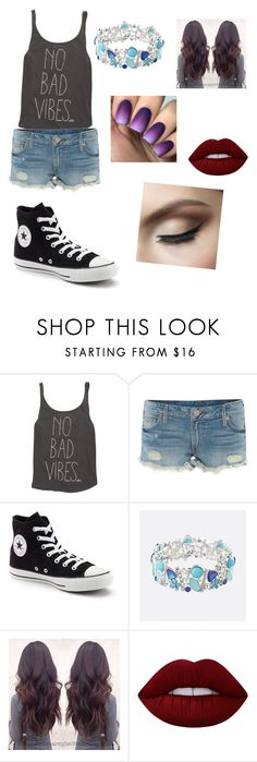 """Cassiopila Black. A trip to Diagon Alley."" by hpfan4lyfe ❤ liked on Polyvore featuring Billabong, True Religion, Converse, Avenue and Lime Crime"