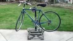 Picture of Quck and Easy Bicycle Repair Stand