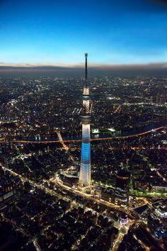 Tokyo Tower.