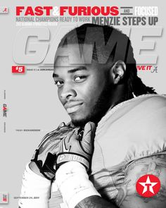 Trent Richardson Game 11 by Buddy Overstreet, via Behance #Alabama #RollTide #BuiltByBama #Bama #BamaNation #CrimsonTide #RTR #Tide