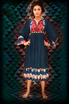 Beautiful afghan dress from indiVintage in mint condition from the 60s